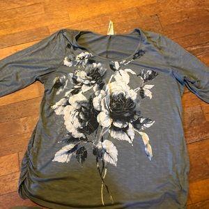 Faded glory 3/4 sleeve shirt